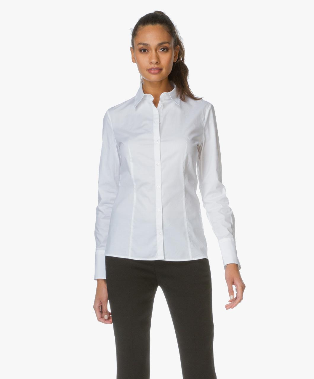 getailleerde blouse