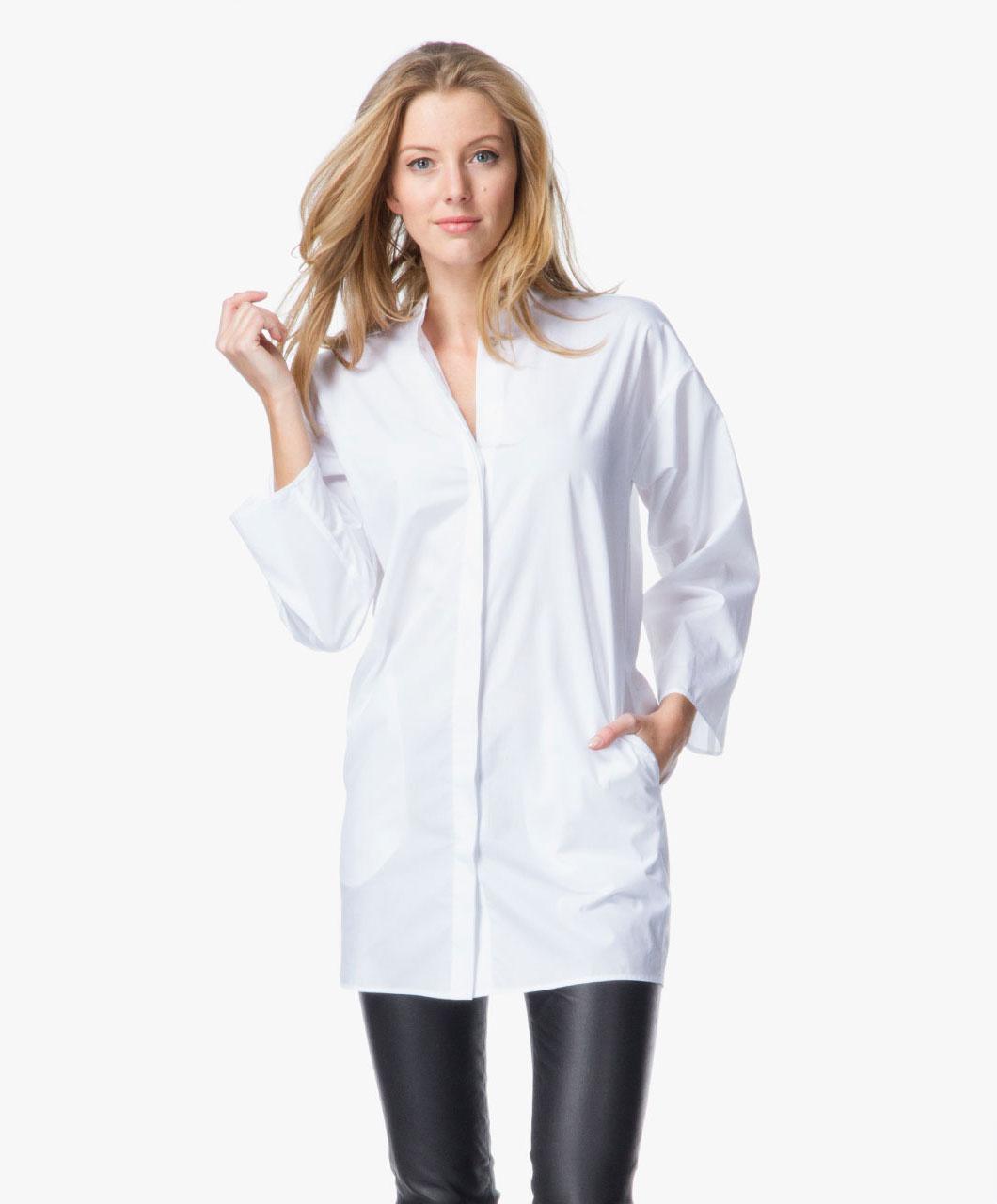 Cotton Tunic Blouse 11