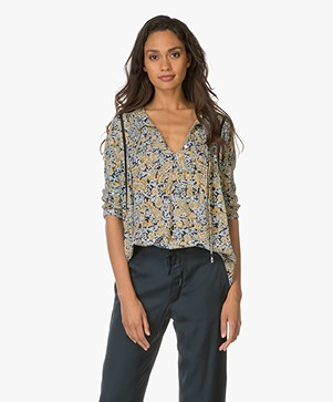 Indi & Cold Blouse met Paisley Print