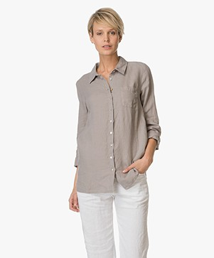 Belluna Boston Lange Linnen Blouse