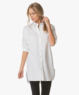 no man's land Oversized Blouse - Wit