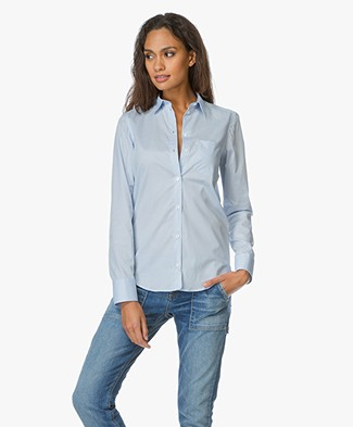 Filippa K Classic Stretch Shirt - Light Blue
