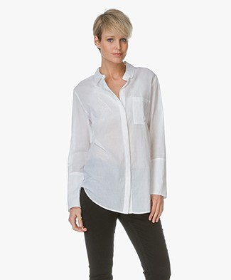 Drykorn Cotton Blouse Mallie - White