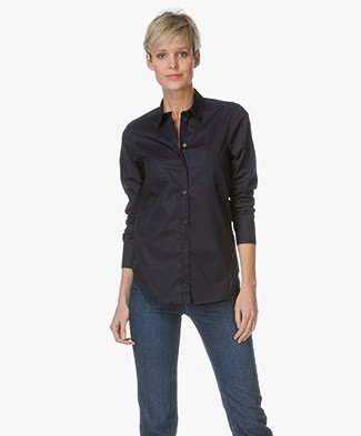 Filippa K Classic Stretch Shirt - Navy