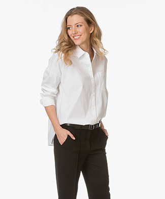 Theory Lourah Shirt Blouse - White