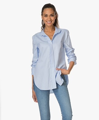 By Malene Birger Leijai Blouse - Blue
