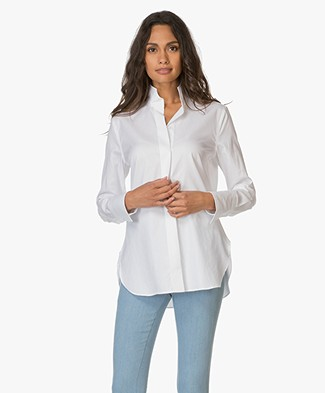 By Malene Birger Leijai Blouse - White