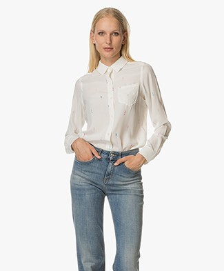 Rails Kate Silk Blouse - Seahorses