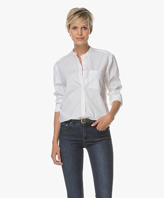 Filippa K Back Button Blouse - Wit