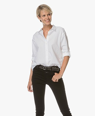 Closed Basic Poplin Blouse Joan - White