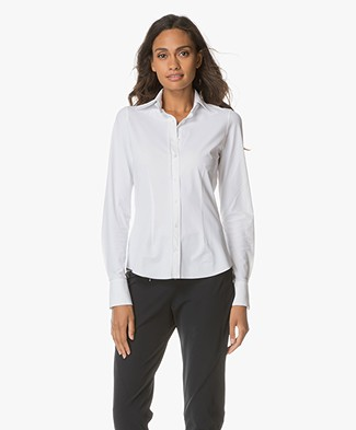 JapanTKY Ayaka Tailored Blouse - White