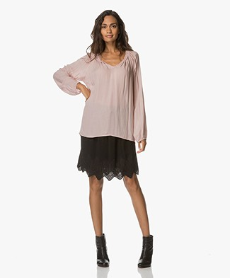 BRAEZ Supple Blouse - Old Pink