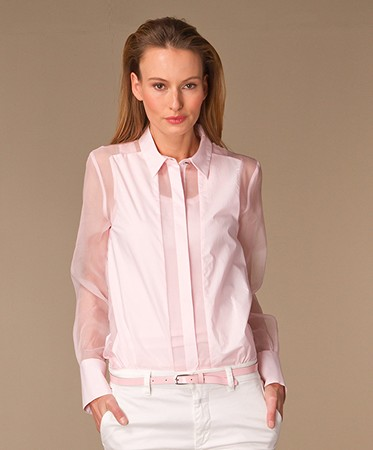 By Malene Birger - By Malene Birger Larakia Blouse - Pastel Pink