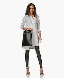 SPANX® Ready-to-Wow! Faux Leather Leggings - Zwart