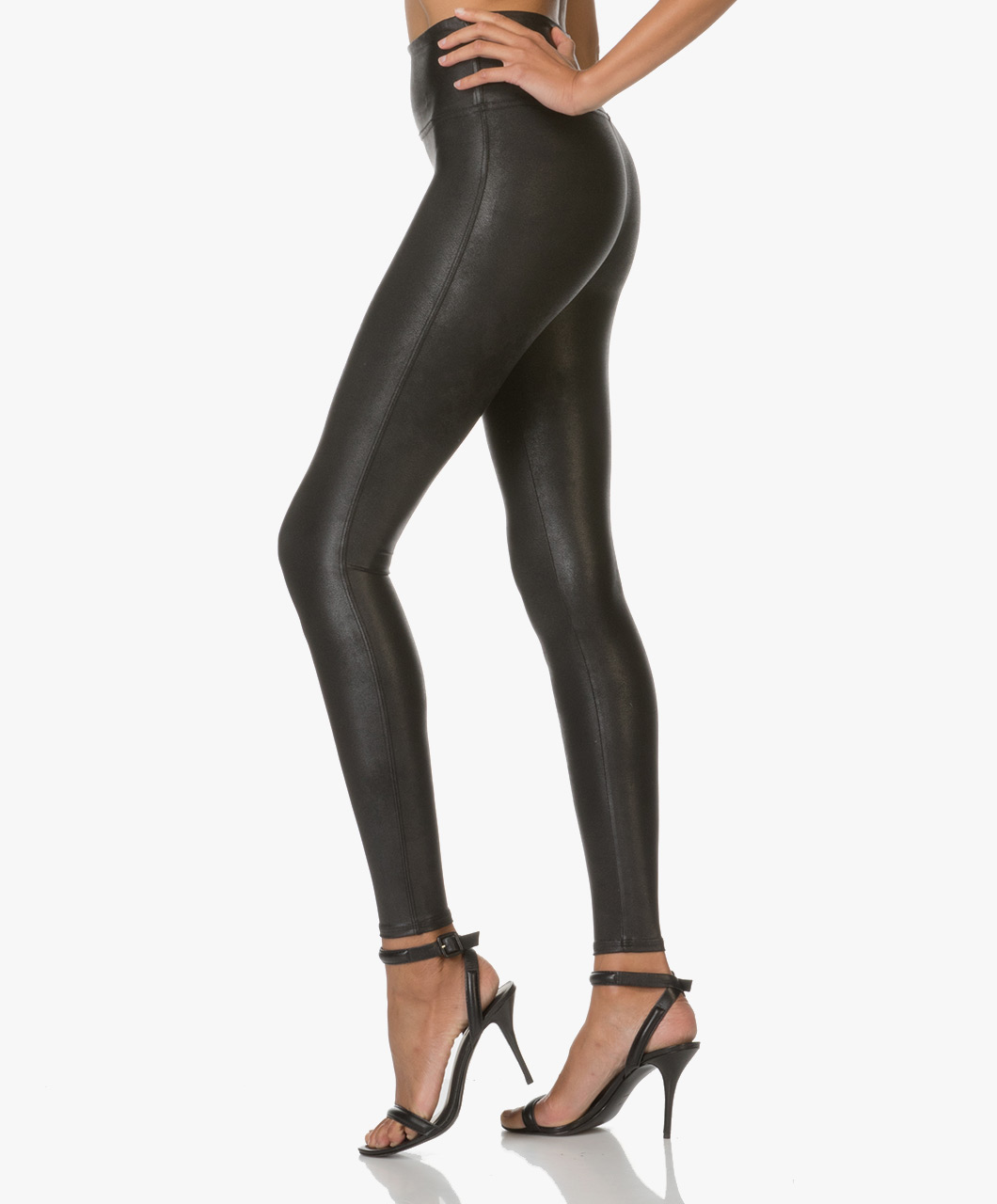 afbad2441374c SPANX® Ready-to-Wow! Faux Leather Leggings - Black - spx 2437 9999