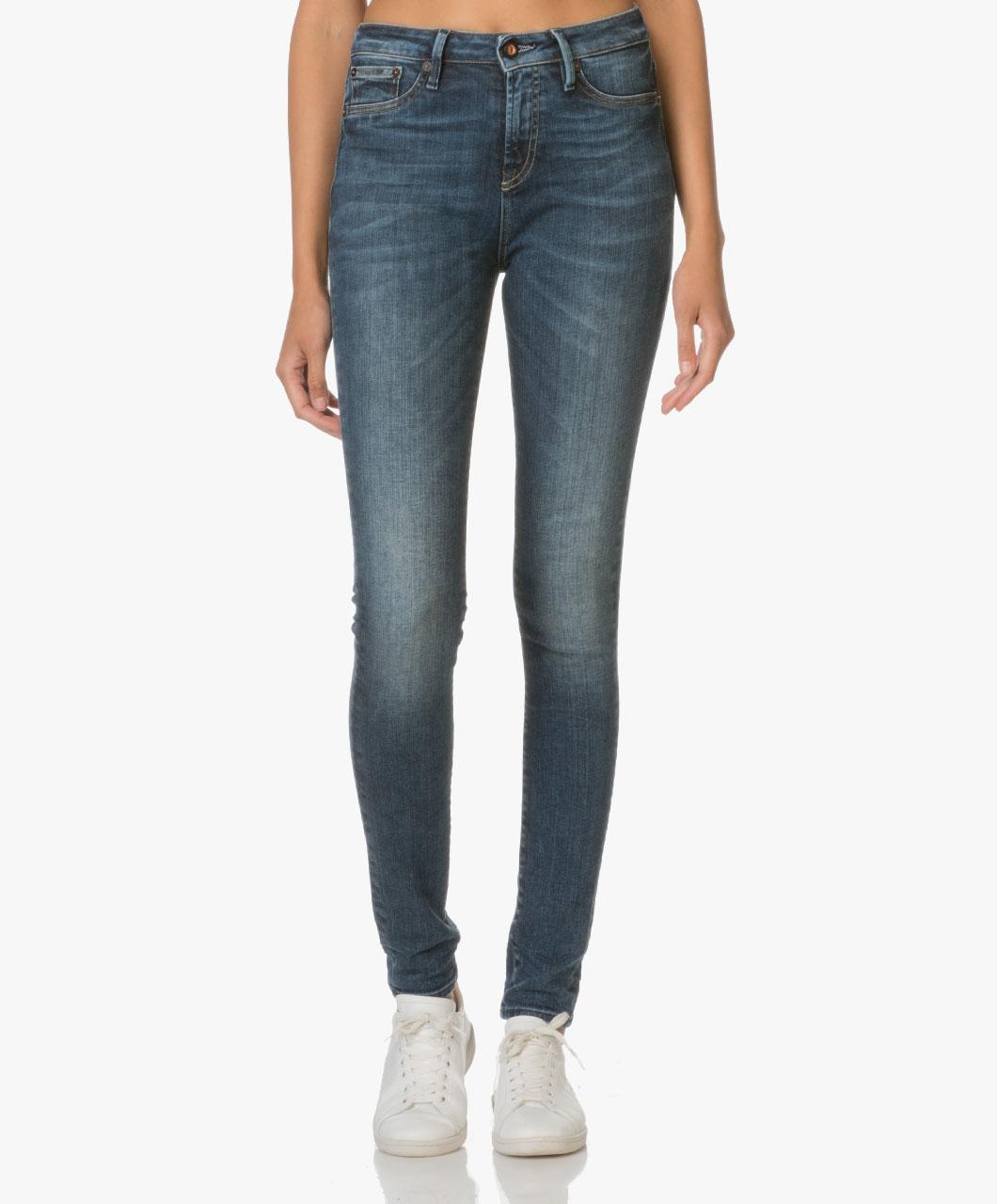 Afbeelding van Denham Jeans Needle in Donkerblauw