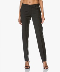 Filippa K Luisa Cool Wool Pantalon - Zwart