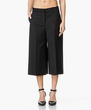 Theory Halientra Culottes - Zwart