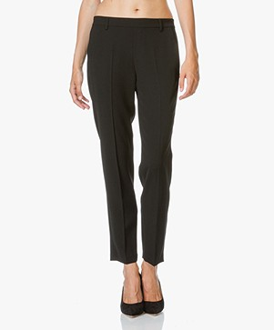 Vince Easy Pull-On Pantalon - Zwart