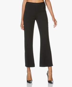 Helmut Lang Pull On Flare Pants - Black