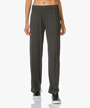 Majestic Jersey Loose-fit Pants