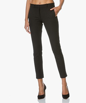 Joseph New Eliston Stretch Pantalon - Zwart