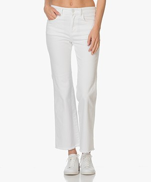 Filippa K Lily Cropped Jeans - Wit Denim