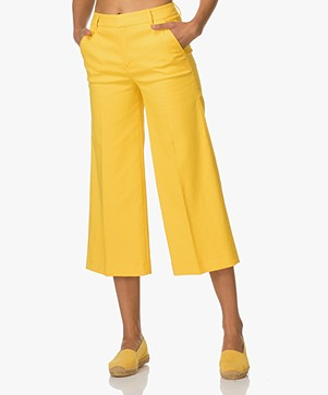 Filippa K Flyn Cropped Broek - Sunglow