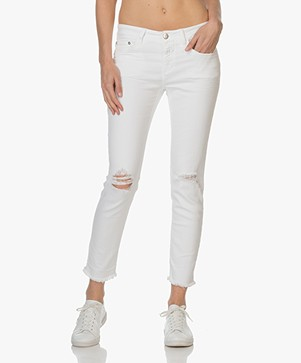 Closed Baker Slim-fit Love-worn Jeans - Wit
