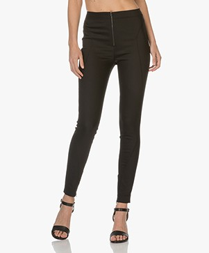 Drykorn Run Slim-fit Pantalon - Zwart