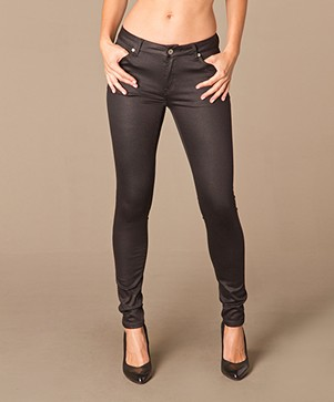 Repeat Coated Skinny Jeans