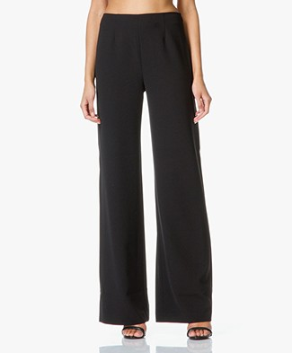 T by Alexander Wang Wide Trousers - Black