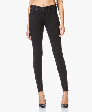 Drykorn Soon High Rise Skinny Jeans - Nearly Black