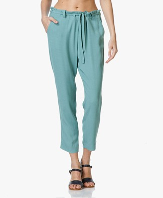 Paul & Joe Sister Olister Loose-Fit Pants - Jade