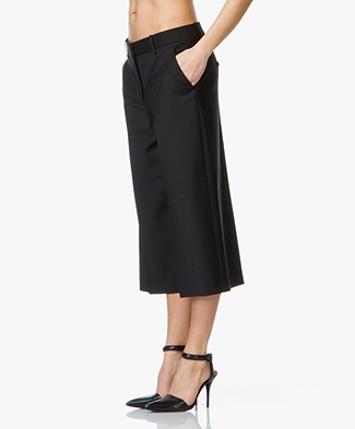 Theory Halientra Culottes  - Black