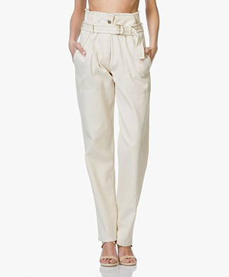 Vanessa Bruno Epagny High Waist Trousers - Sable