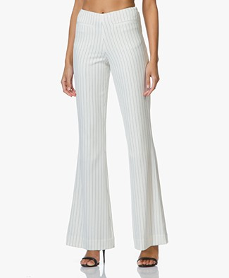 By Malene Birger Cirah Pants - Soft White/Black
