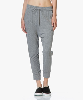 Majestic Jersey Loose-fit Trousers