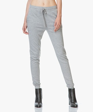 T by Alexander Wang French Terry Sweatpants - Heather Grey