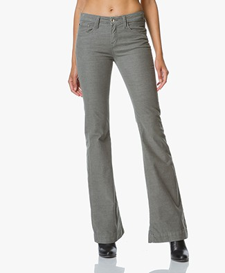 Indi & Cold Flared Corduroy Trousers