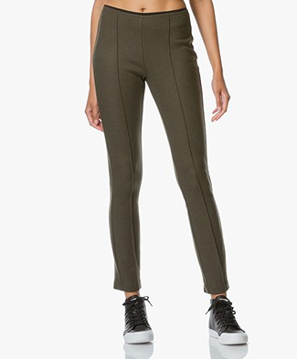 Rag & Bone Club Wool Slim-fit Pant - Army Green