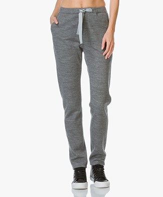 Closed Easy Jersey Sweat Pants - Grey Heather