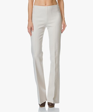Theory Demitria Flared Pants - Pearl Ivory