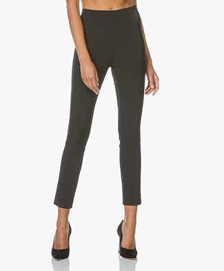 Theory Stretch Skinny Pants Navalane - Black