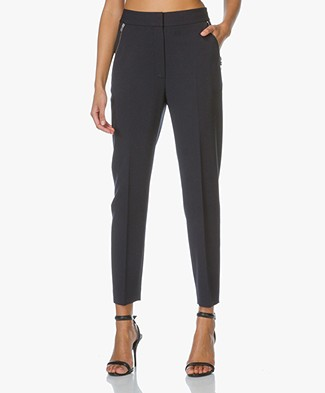 Alexander Wang High Waisted Pants - Indigo