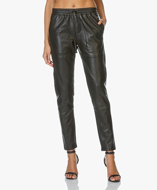 Zadig et Voltaire Parone Deluxe Leather Pants - Black