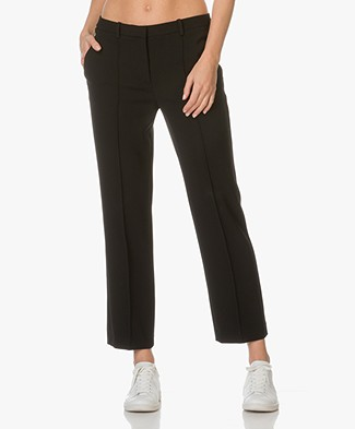 Theory Harsdale Crepe Pants - Black