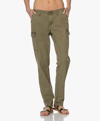 Denham Tara Cargo Pants - Legion Green