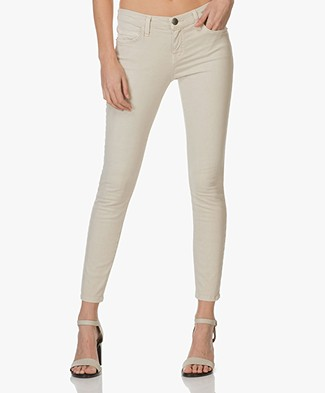 Current/Elliott The Stiletto Slim-fit Jeans - Silver Cloud