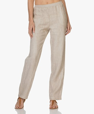 no man's land Linnen Pantalon